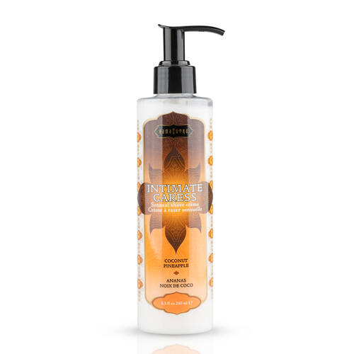 Kamasutra Intimate Caress Coconut Pineapple Scheercrème.   10197