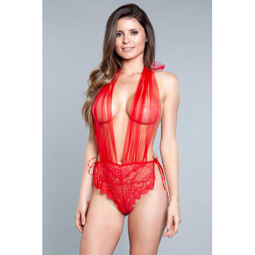 Alessandra Body - Rood.   1875-RED-S