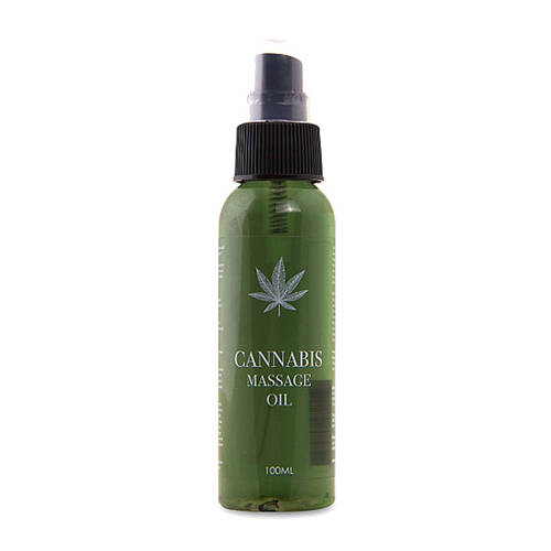 Cannabis Massageolie - 100ml.     PHA076