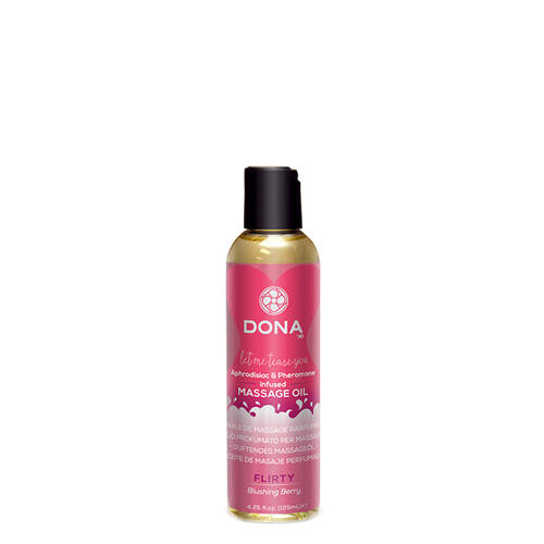 Dona Scented massage oil Flirty.    251379