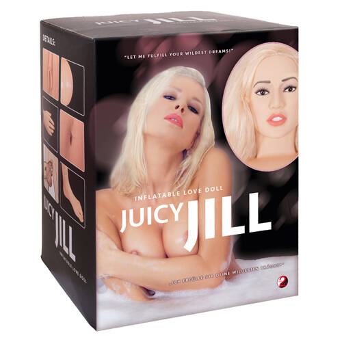 Juicy Jill - blonde opblaaspop.    05119190000