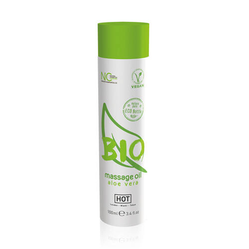 HOT BIO Massageolie Aloe Vera - 100 ml               44152
