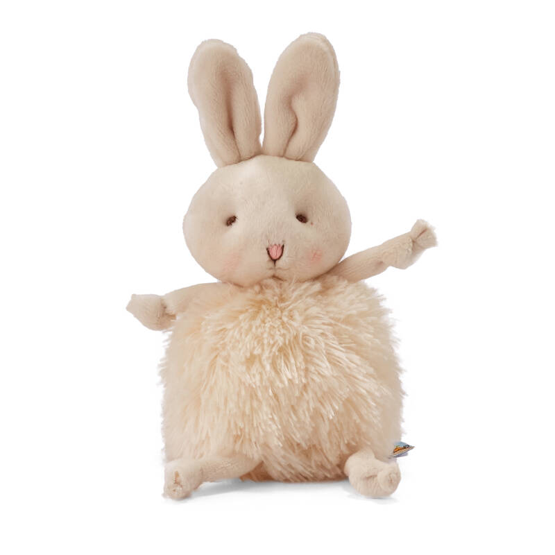Bunnies By The Bay Roly-Poly knuffel konijn creme