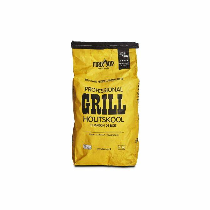 Fire-Up - Professional - Grill Houtskool - 4 kg