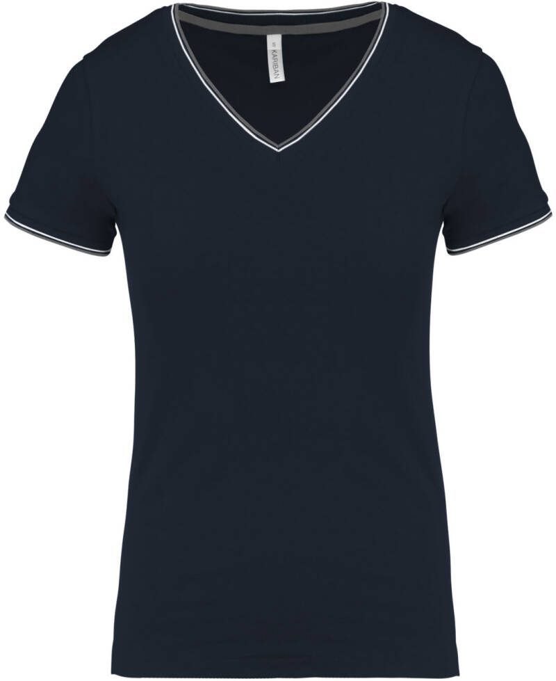 Twin-Tipped V-neck Tee - K394