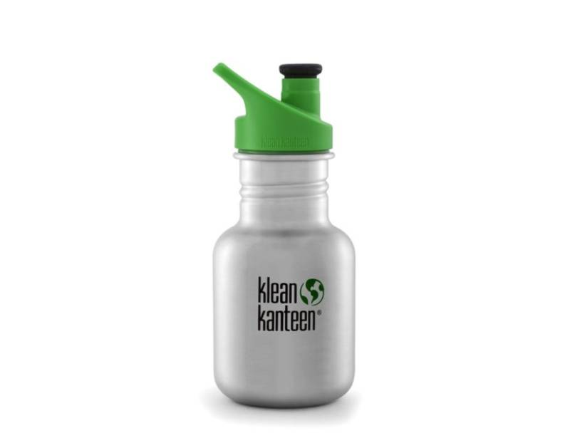 Kid Kanteen 12 oz - Sport Cap - Brushed