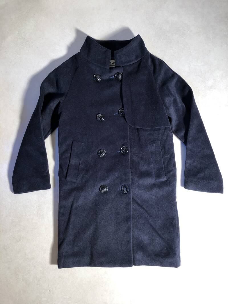 Urban vintage outfitters donkerblauwe trenchcoat maat 134