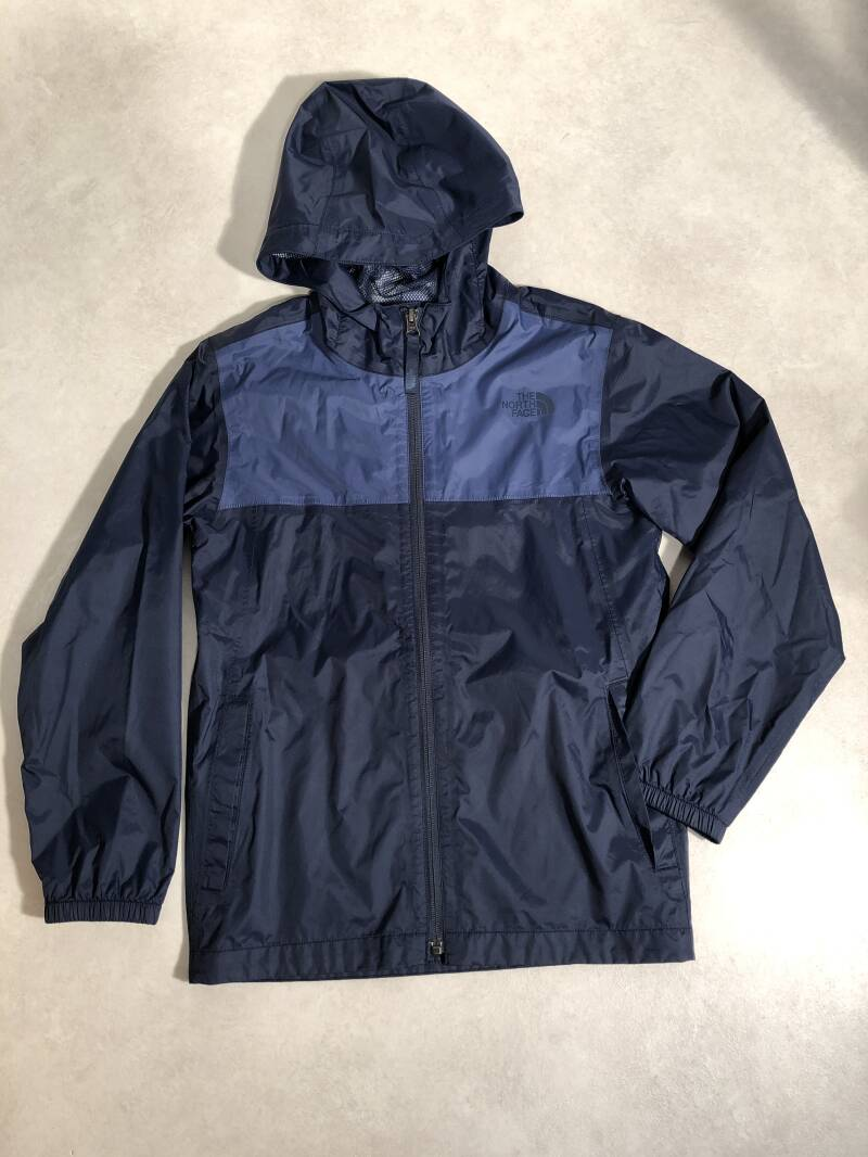 The north face dunne jas maat 152
