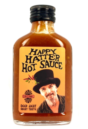 Happy Hatter Hot Sauce Original 100ml