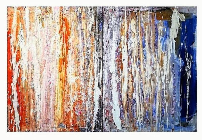 Abstract painting (2) x 50 x 90 cm