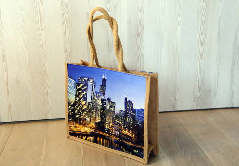 "Stevige shopper ""City Lights"""