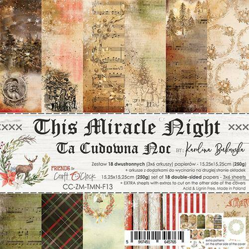 """Craft O'Clock - Paper Collection Set 6"""" - This Miracle Night"""