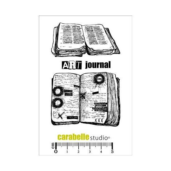 Carabelle Studio-A7 Stamp-Art Journal