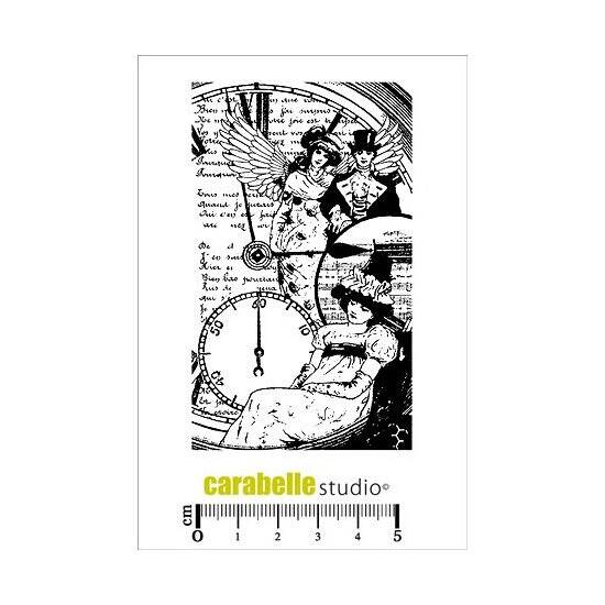 Carabelle Studio-A7 Stamp-Collage Romantique