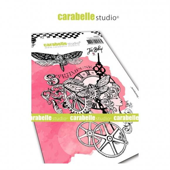Carabelle Studio-A6 Stamp-Chroniques steampunk