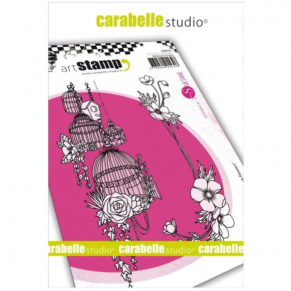 Carabelle Studio - A6 Stamp - French flowers