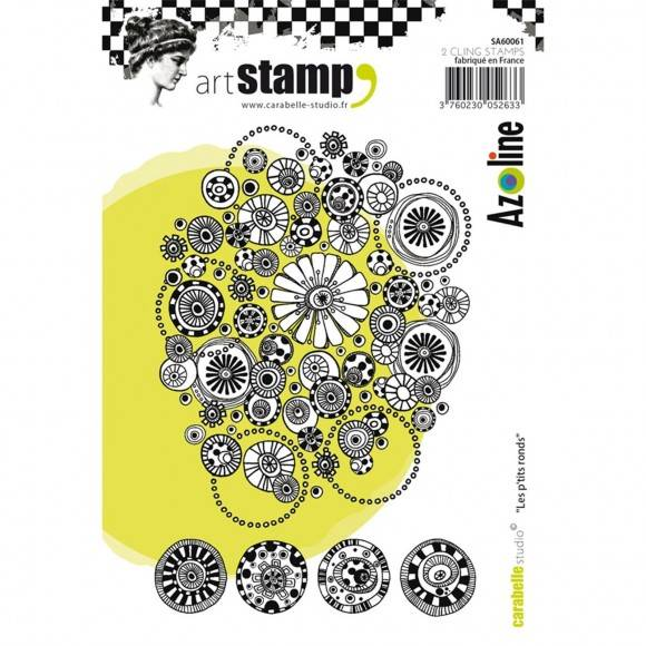 Carabelle Studio-A6 Stamp-Les p'tits ronds