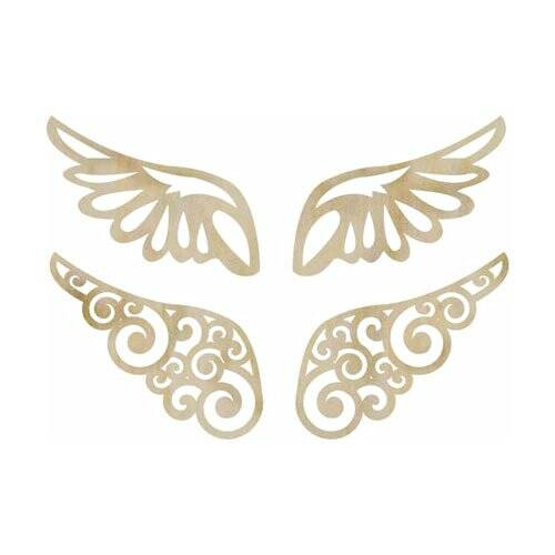 Kaisercraft - Wood Flourish - Wings