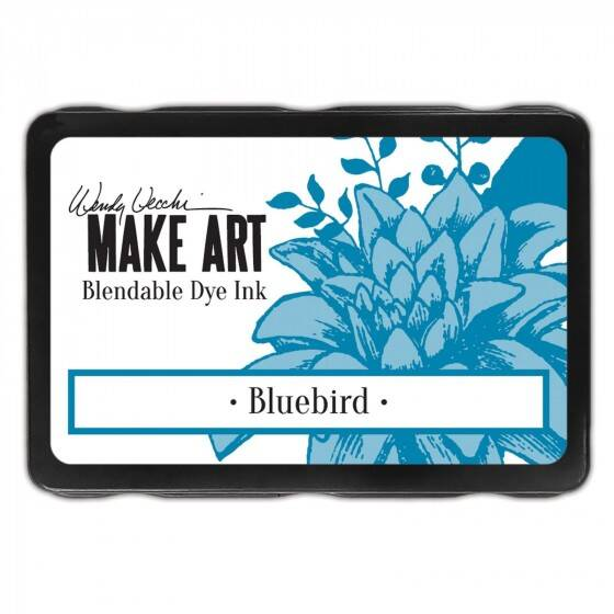 Wendy Vecchi - Make art blendable dye ink pad - Bluebird