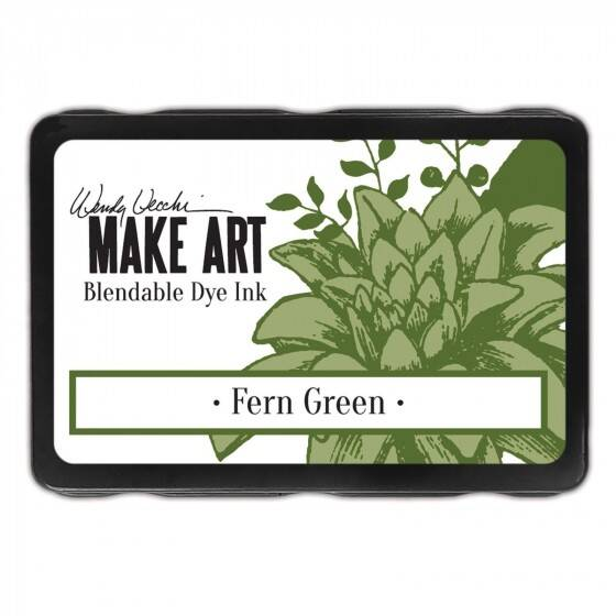 Wendy Vecchi - Make art blendable dye ink pad - Fern Green