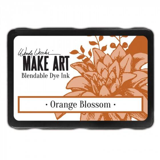 Wendy Vecchi - Make art blendable dye ink pad - Orange Blossom