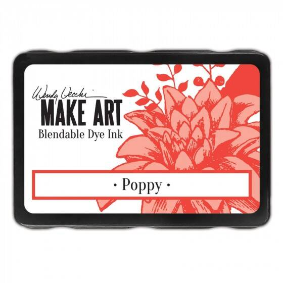 Wendy Vecchi - Make art blendable dye ink pad - Poppy