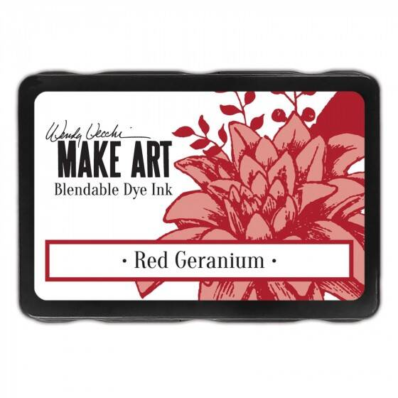 Wendy Vecchi - Make art blendable dye ink pad - Red Geranium