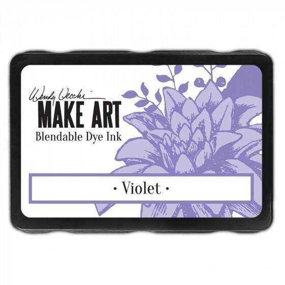 Wendy Vecchi - Make art blendable dye ink pad - Violet