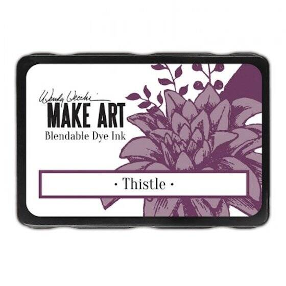Wendy Vecchi - Make art blendable dye ink pad - Thistle