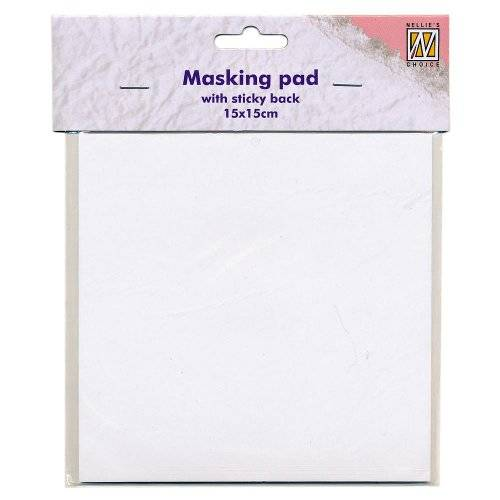 Nellie's Choice - Masking Paper Pad sticky back