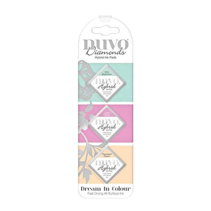 Nuvo-Diamond hybrid ink pads-Dream in colour
