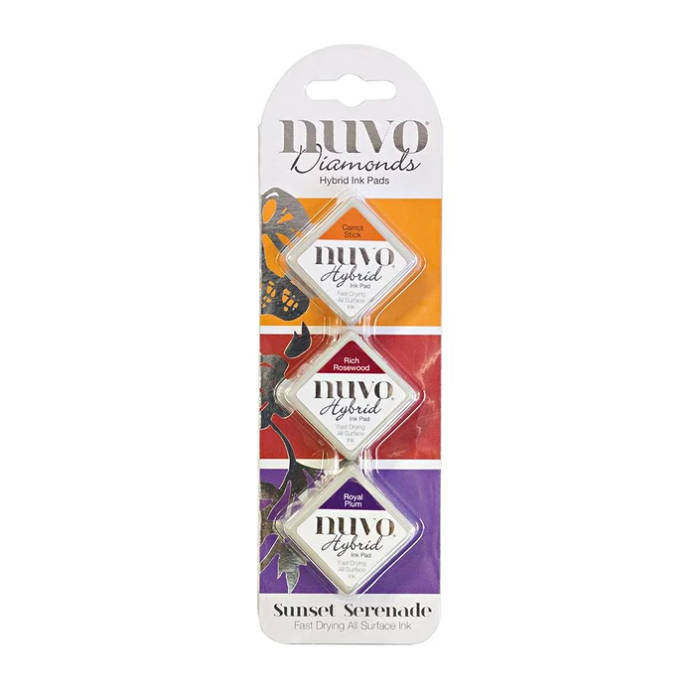 Nuvo-Diamond hybrid ink pads-Sunset serenade