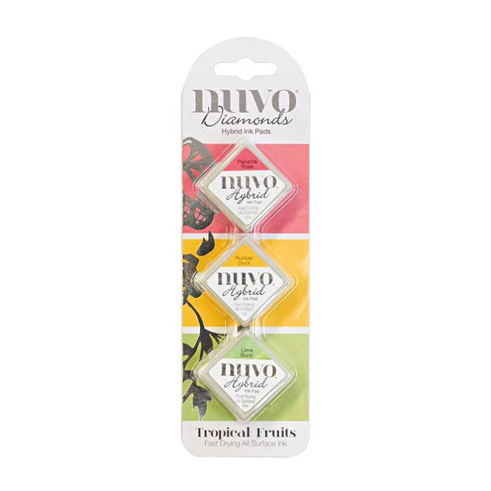 Nuvo-Diamond hybrid ink pads-Tropical fruits
