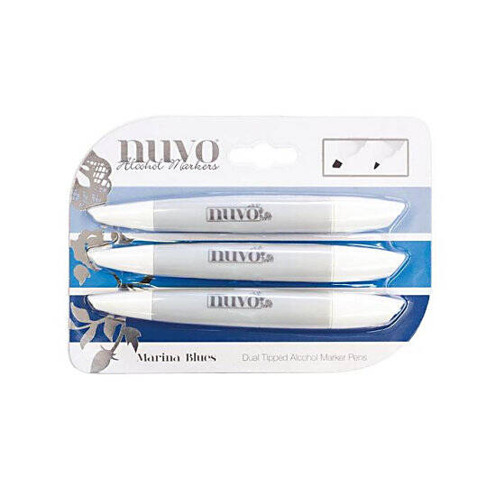 Nuvo-Marker Pen Collection-Marina Blues-314N
