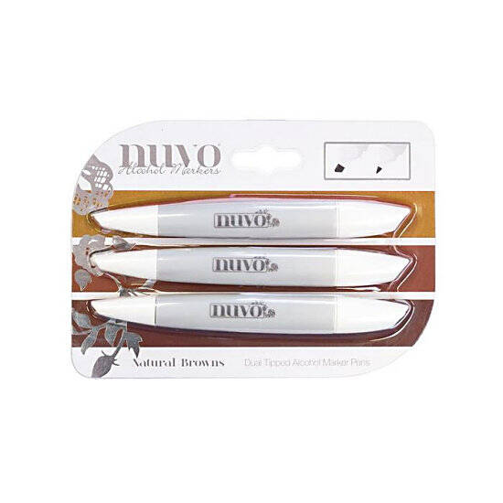 Nuvo-Marker Pen Collection-Natural Browns-317N