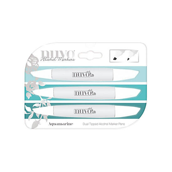 Nuvo-Marker Pen Collection-Aquamarine-326N