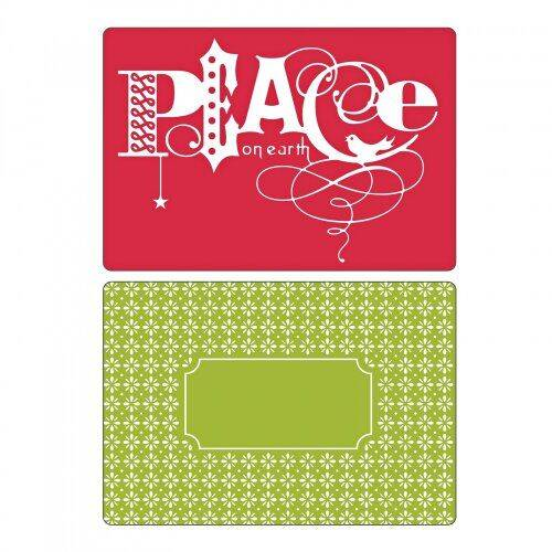 Sizzix-Embossing Folders-Peace Set