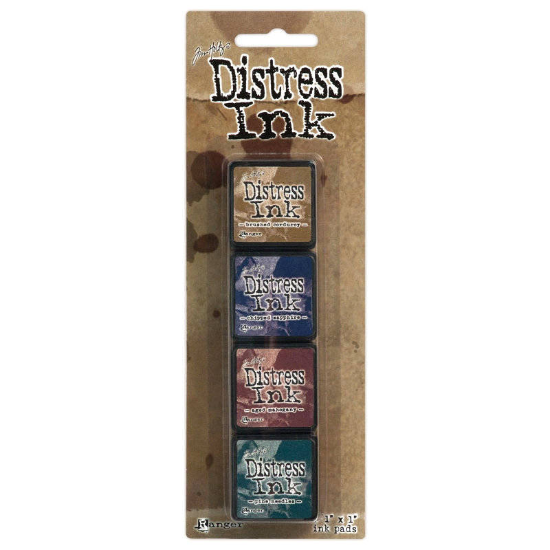 Tim Holtz - Distress Mini - Ink Kit 12