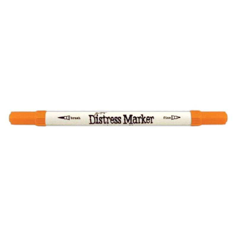 Tim Holtz-Distress Marker-Carved Pumpkin