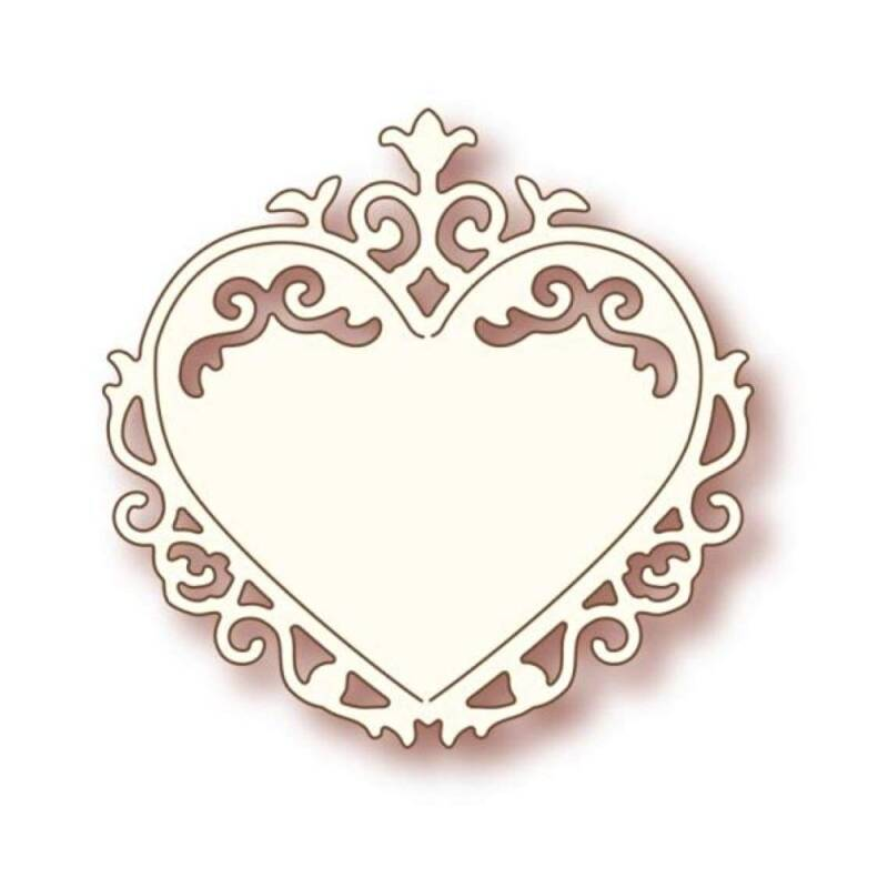 Wild Rose Studios-Specialty die-Ornate Heart