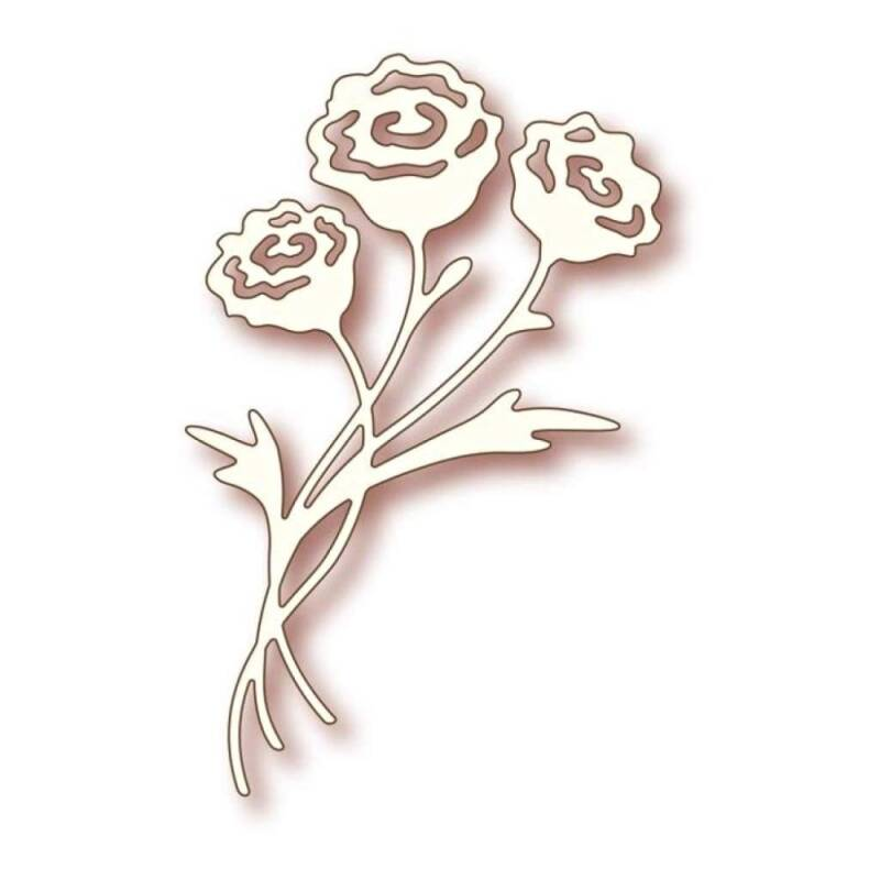 Wild Rose Studios-Specialty die-Rose Bunch