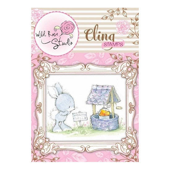 Wild Rose Studio-Cling Stamp-Wishing Well