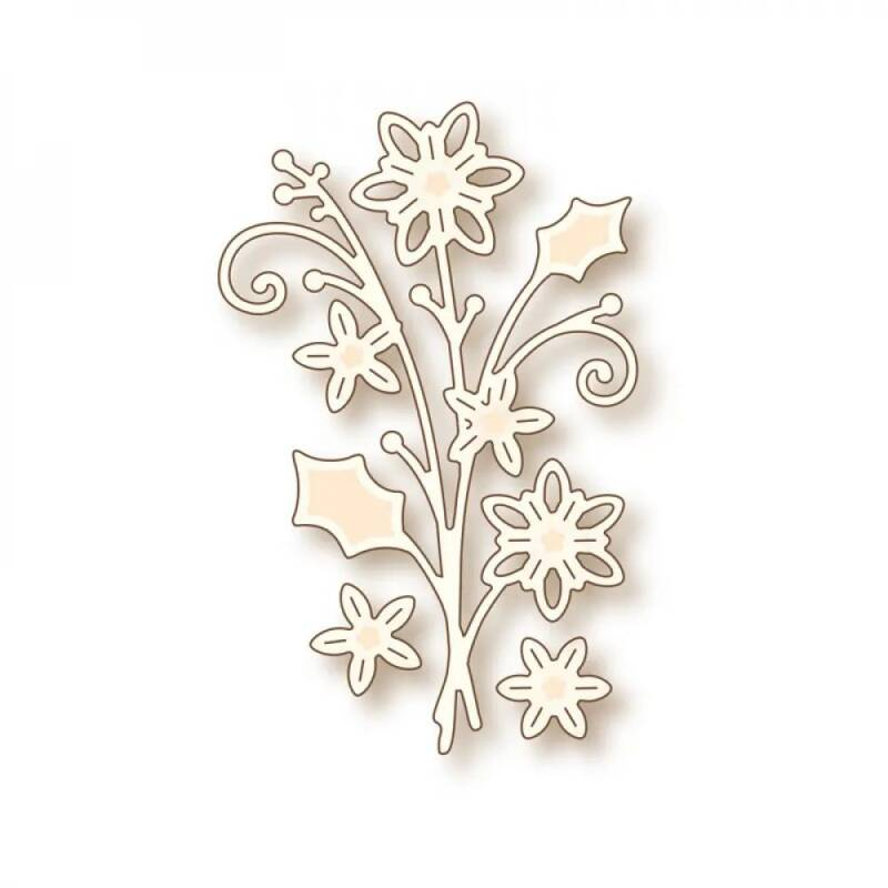Wild Rose Studios-Specialty die-Winter Bouquet