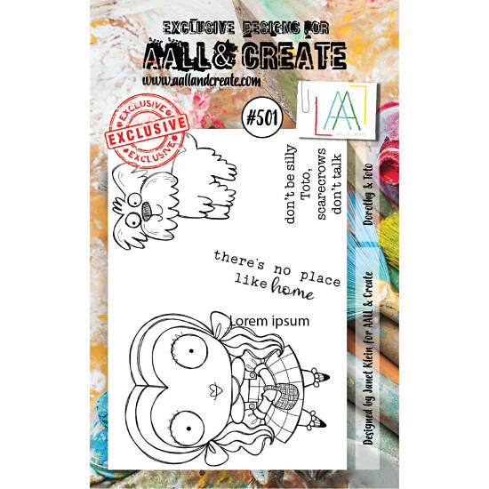 AALL & Create - Stamp set - A7 - Dorothy & Toto