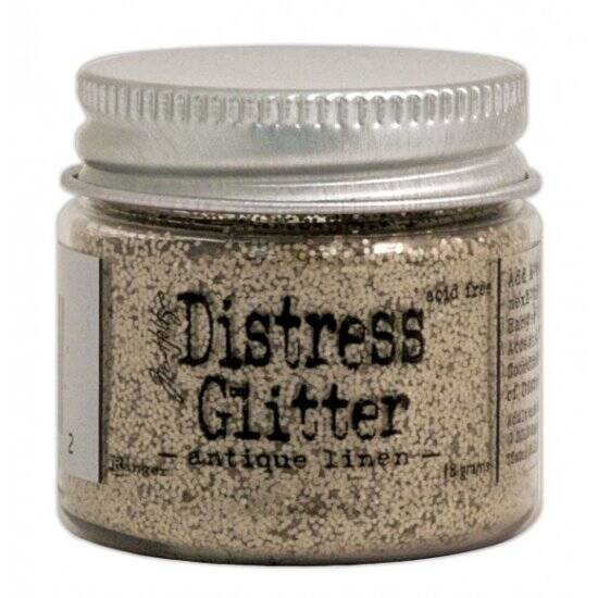Ranger - Tim Holtz - Distress Glitter - Antique linen