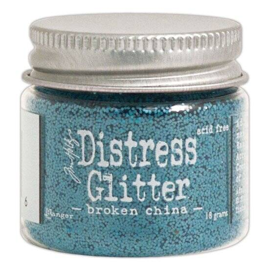 Ranger-Tim Holtz-Distress Glitter 18g-Broken china