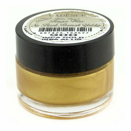 Cadence - Water Based Finger Wax - Inca goud