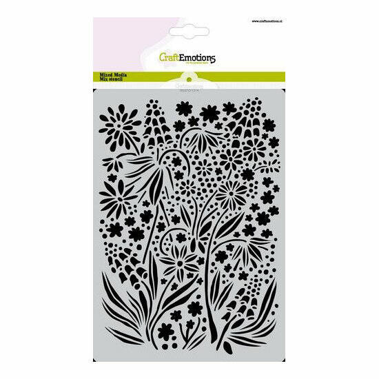 CraftEmotions - Mask stencil - Summer Flowers