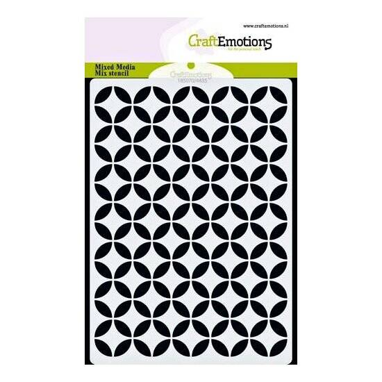 CraftEmotions-MM Mix stencil design-Cirkel Decoratief-A6