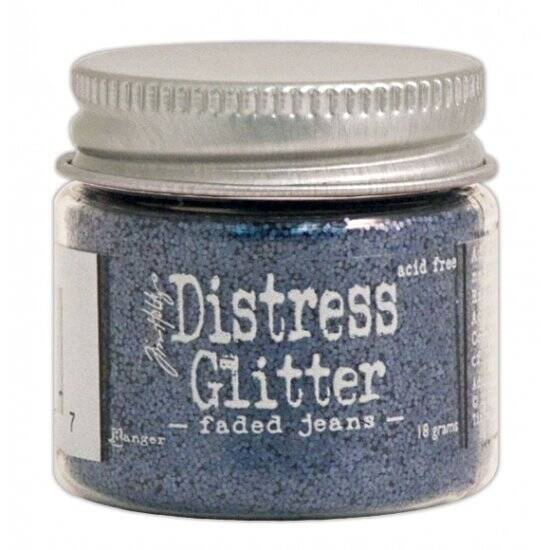 Ranger - Tim Holtz - Distress Glitter - Faded jeans